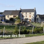La Baraque des Bois, commune d'Aumont-Aubrac.