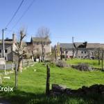 La croix, commune d'Aumont-Aubrac.