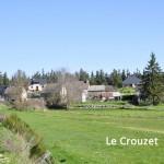 Le Crouzet, commune d'Aumont-Aubrac.