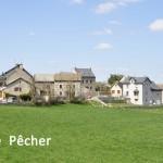 Le Pêcher, commune d'Aumont-Aubrac.