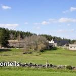 Monteils, commune d'Aumont-Aubrac.