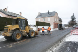 Travaux à Aumont-Aubrac